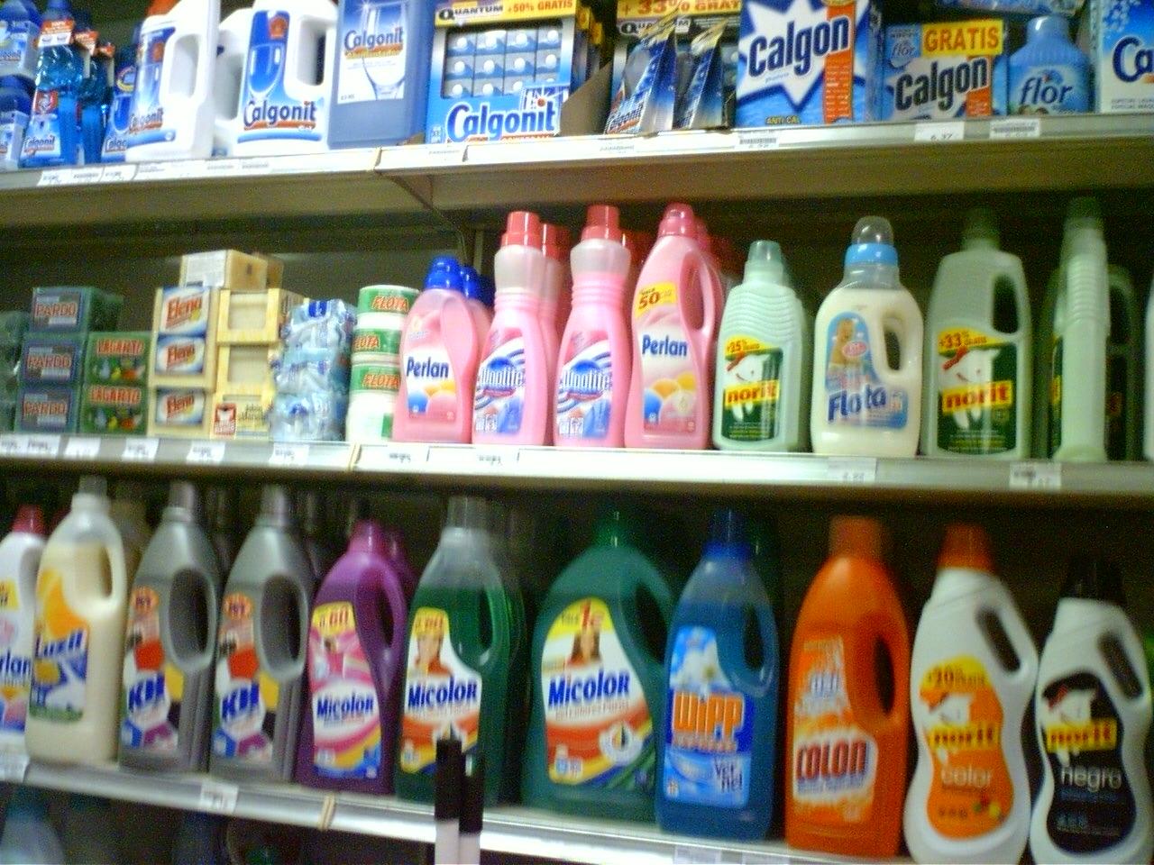 Galer a de fotograf as for Productos de limpieza